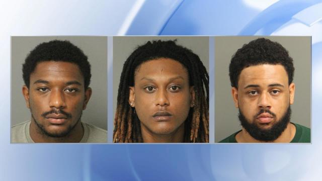3 charged in Raleigh murder