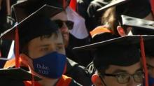 IMAGES: Proud moment: Duke class of 2020 celebrates long-awaited in-person commencement