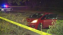 IMAGE: After being shot while in stopped car, man crashes in Durham