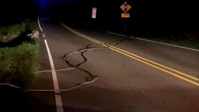 Lead Mine Road closed in Raleigh due to fallen power lines