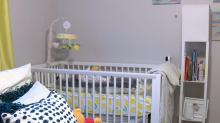 IMAGE: NC mom wakes up to bullet hole in wall above baby's crib