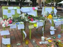 Memorial for UNC-Chapel Hill suicides