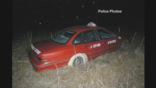 William Simon's abandonded cab
