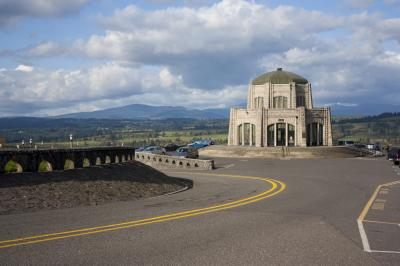 The Vista House at Crown Point. (Deseret Photo)