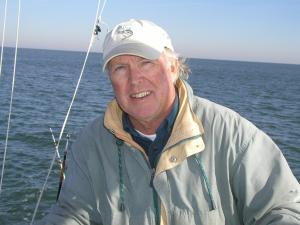 Capt. Ernie Foster will share stories about Hatteras Island, where he operates the state's oldest charter boat operation, the Albatross Fleet.