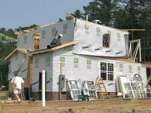 This Raleigh home is part of Habitat for Humanity's building blitz in the state.