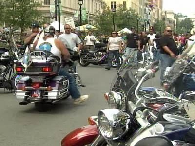 Motorcycle enthusiasts attended the Capital City Bike Fest in downtown Raleigh on Sept. 27, 2008.