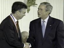 Bush honors Duke researcher