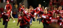 IMAGES: Garner Mitey Mites participate in NCSU pre-game