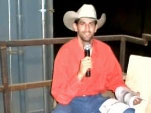 Daniel Seddiqui worked as an announcer at a South Dakota rodeo.