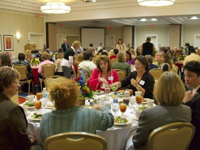 A photo taken at last year's Bright Ideas luncheon.