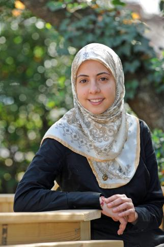 Aisha Ihab Saad, of Cary, won a Rhodes Scholarship as a senior at University of North Carolina at Chapel Hill. Saad will pursue a master's degree in nature, society and environmental policy at Oxford University in England.