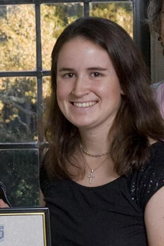 Julia Parker Goyer, 23, of Birmingham, Ala., won a Rhodes Scholarship for founding the Coach for College program, which sends student-athletes to teach middle schoolers in rural areas of developing countries. The 2007 Duke University graduate will pursue a masters of science in comparative and international education at Oxford University in England.
