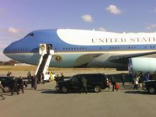 President George W. Bush arrives in Greensboro Tuesday to honor the work of Youth Focus Inc.