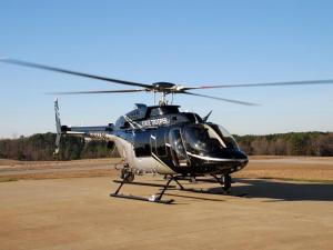 The North Carolina Highway Patrol's new Bell 407 helicopter