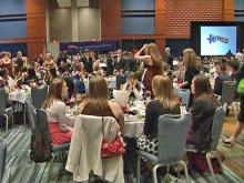 Nearly 1,000 teens attended the Governor's Gala at the Raleigh Convention Center Friday, Feb. 13, 2009, as part of the annual YMCA N.C. Youth Legislature Conference.