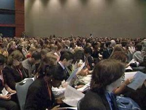 Teens took over the North Carolina General Assembly this weekend for the annual YMCA N.C. Youth Legislature Conference.
