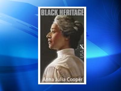 Dr. Anna Julia Haywood Cooper will be honored by the U.S. Postal Service next month with a postal stamp.