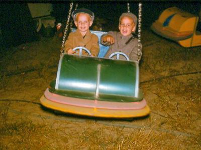 Danny and David Coghill at the 1959 North Carolina State Fair.