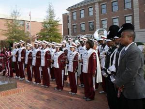 "The NCCU ""Marching Sound Machine"" will participate in the Tournament of Roses Parade in 2011."