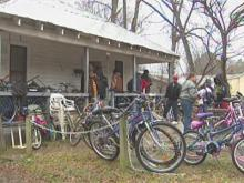 Durham kids receive bikes
