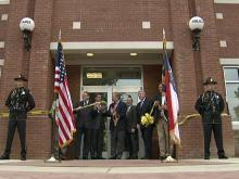 Apex dedicates new police headquarters