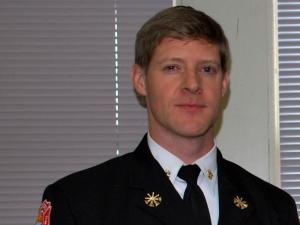 "Rocky Mount Fire Chief William ""Trey"" Mayo"