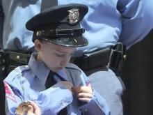 Meet Raleigh's youngest officer