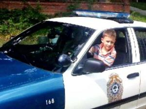 Will Bunn, 8, was the City of Raleigh's first honorary police officer.