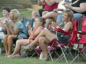 Smithfield had a higher turnout for an Independence Day celebration without competition from other local events.