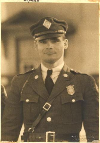 Patrolman A.J. Hedgepeth (Photo courtesy The Laurinburg Exchange)