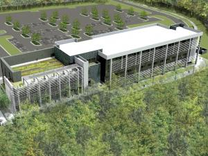 A $22 million classroom building is under construction at Wake Tech's North campus.