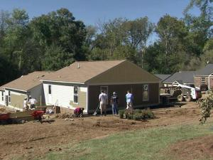The Raleigh chapter of the national nonprofit Builders of Hope is conducting a neighborhood revitalization effort called the Villas at State Street. Volunteers are transforming old apartments into more energy efficient, affordable housing.