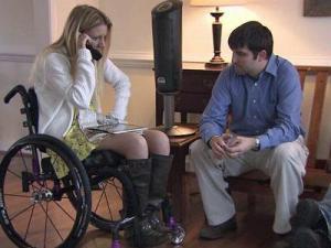 Rachelle Friedman and her fiance, Chris Chapman