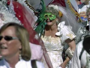 """Dozens of individuals and couples held an outdoor ceremony called """"Marry Durham Day"""" Saturday, March 19, 2011, and vowed to honor and cherish their beloved Durham."""