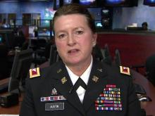 NC National Guard Col. Elizabeth Austin