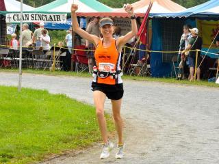 Kelcey Carlson Grandfather Mountain Marathon 2011 (Photo courtesy of Cecil & Erma Hudgins)