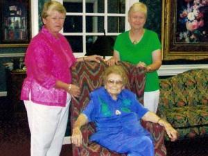 Sara May and her daughters