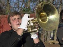 Broughton band ready for Tournament of Roses parade