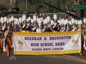 The Broughton High School band marched in the Tournament of Roses parade on Jan. 2, 2012.