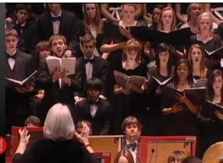 Ravenscroft choir performs in the London International Choral Festival.