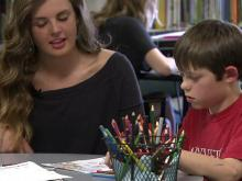 Wake Forest teen helps children