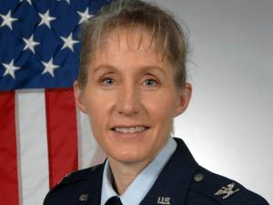 Air Force Col. Jeannie Leavitt