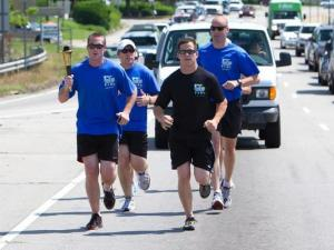 2012 Special Olympics of North Carolina NC Law Enforcement Torch Run (Photo courtesy of Herb Battle)