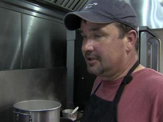 Bobby Ravenscroft spent Father's Day slaving over a hot stove, and he wouldn't have it any other way.