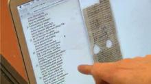 IMAGE: Ancient documents go digital at Duke