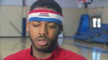 IMAGES: Globetrotter answers letter to Santa with anti-bullying message
