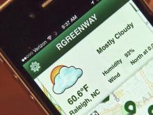 App maps Raleigh greenways
