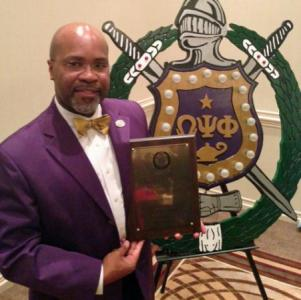 Director James Ford is the winner of the Leadership/Mentor award.