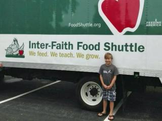 A Raleigh third-grader's drive to supply food to hungry children has expanded to include nearly a dozen grocery store partners and scores of volunteers.